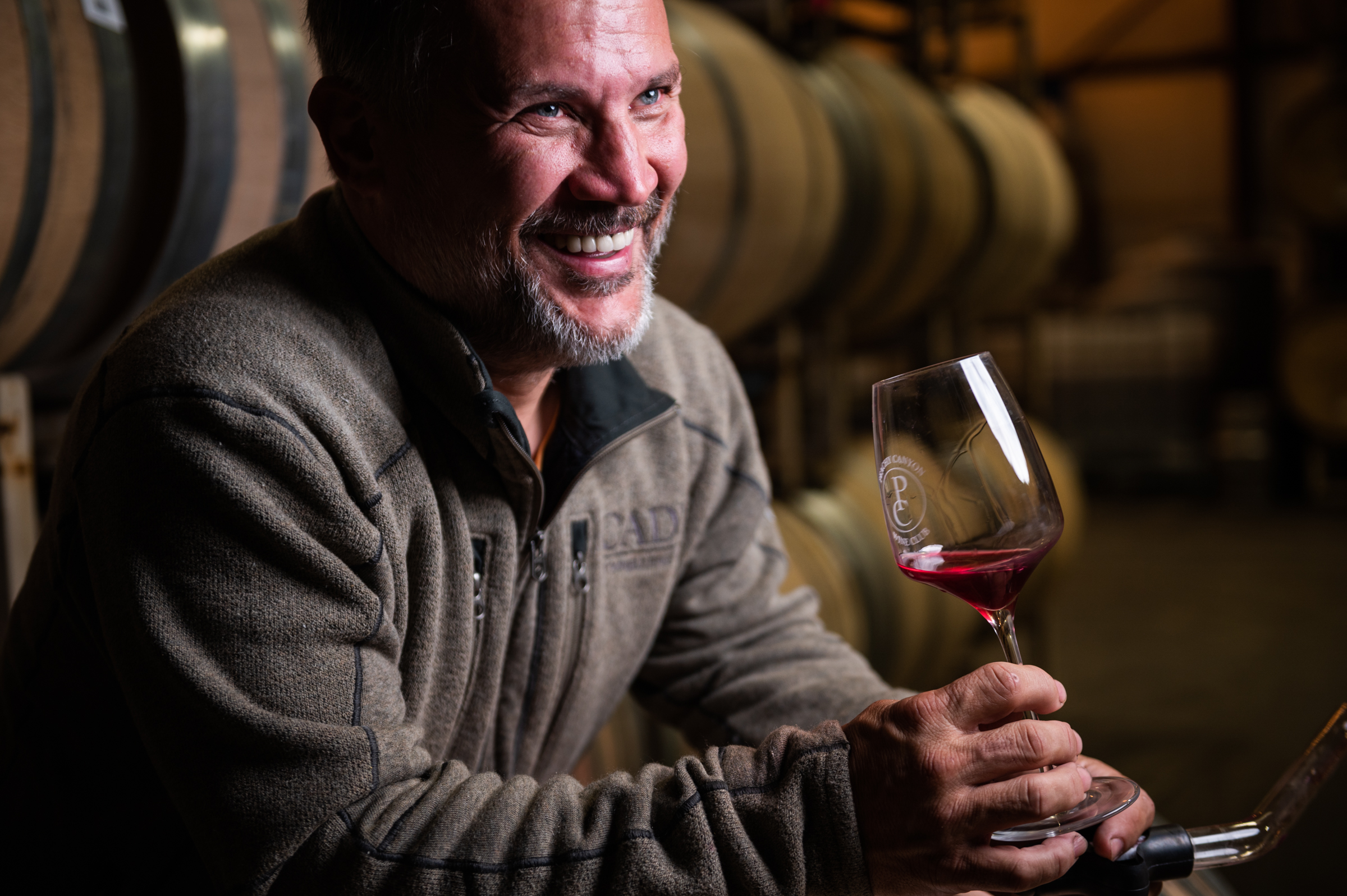 Portrait of Rob Henson, winemaker at Peachy Canyon Winery